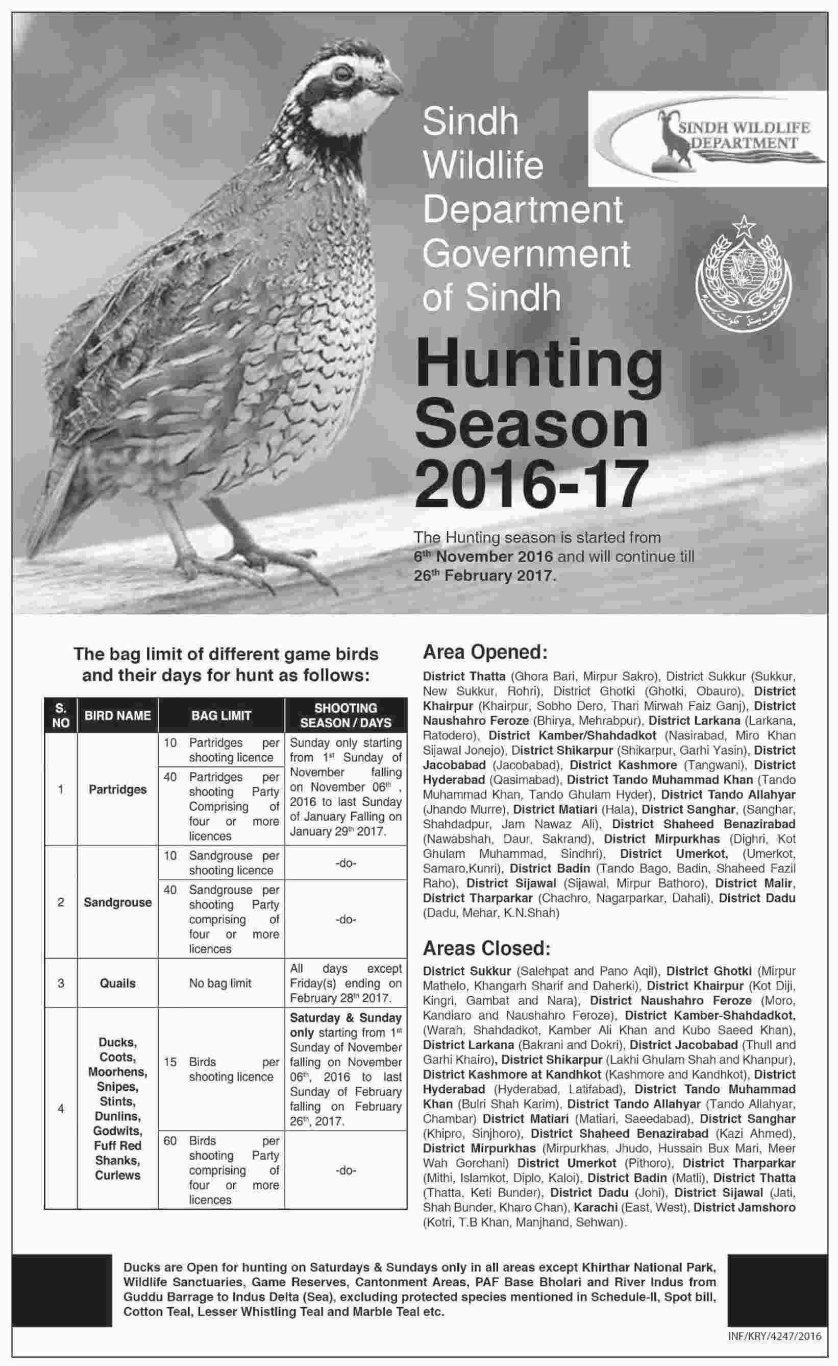 Sindh Wildlife Department Government of Sindh